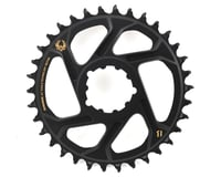 Image 1 for SRAM X-Sync 2 Eagle Direct Mount Chainring (Black/Gold) (6mm Offset) (34T)