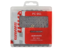 Image 2 for SRAM PC-951 Chain w/ Powerlink (Grey) (9 Speed) (114 Links)