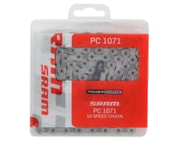 Image 2 for SRAM PC-1071 Chain w/Powerlock (Silver) (10 Speed) (114 Links)