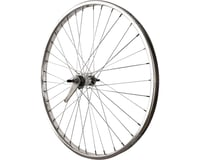Sta-Tru Sta Tru Rear Wheel 26 inch Silver Coaster Brake Steel Rim with Bolt-on Axle 36 S