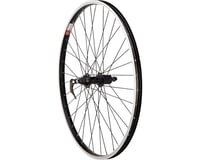 "Sta-Tru Rear Wheel 26"" x 1.5"" Quick-Release Axle, 36 Spokes, MTB HG 8-9 Speed, B"