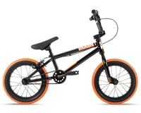 "Stolen 2021 Agent 14"" BMX Bike (14.6"" Toptube) (Black/Dark Neon Orange)"