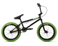 "Stolen 2021 Agent 16"" BMX Bike (16.25"" Toptube) (Black/Neon Green) | relatedproducts"
