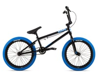 "Stolen 2021 Agent 18"" BMX Bike (18"" Toptube) (Black/Dark Blue)"