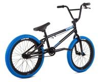 """Image 2 for Stolen 2021 Agent 18"""" BMX Bike (18"""" Toptube) (Black/Dark Blue)"""