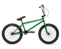 "Stolen 2021 Heist 20"" BMX Bike (21"" Toptube) (Dark Green/Chrome)"