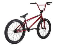 """Image 2 for Stolen 2021 Spade 22"""" BMX Bike (22.25"""" Toptube) (Metallic Red)"""