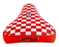 Image 4 for Stolen Fast Times XL Checkerboard Pivotal Seat (Red/White)