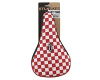 Image 5 for Stolen Fast Times XL Checkerboard Pivotal Seat (Red/White)