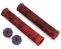 Stranger Quan Grips (Caleb Quanbeck) (Red/Black) (Pair) (Kraton Compound)