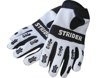 Strider Sports Adventure Riding Gloves (White/Black)