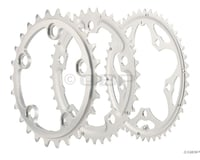 Image 1 for Sugino Supershift Pro Triple 5-Bolt Chainring Set (Silver) (74/110mm BCD) (26/36/46T)