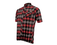 Image 1 for Sugoi Lumberjack Short Sleeve Jersey - 2016 (Black/Red)
