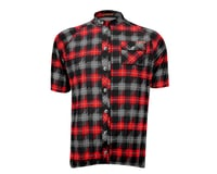 Image 3 for Sugoi Lumberjack Short Sleeve Jersey - 2016 (Black/Red)