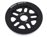 Sunday Knox V2 Guard Sprocket (Black)