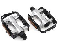 Sunlite Low Profile MTB Pedals (Silver/Black)