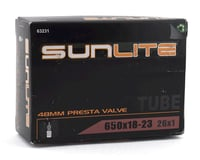Image 2 for Sunlite Standard 48mm Presta Valve Tube (650 x 18-23c) (26 x 1)