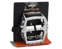 "Image 2 for Sunlite MX Alloy Platform Pedals (Silver) (1/2"")"