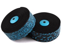Supacaz Super Sticky Kush Handlebar Tape (Starfade Black & Blue)