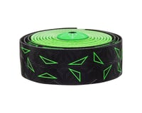 Supacaz Super Sticky Kush Handlebar Tape (Starfade Black & Green)