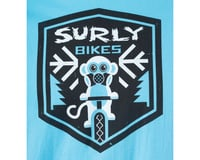 Image 2 for Surly Snow Monkey Men's T-Shirt (Blue)