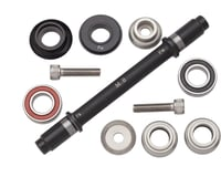 Surly Ultra New Hub Axle Kit for 120mm Rear Fix/Free Black