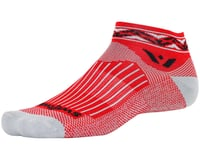 Image 1 for Swiftwick Vision One Apex Sock (Red)