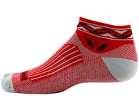 Image 2 for Swiftwick Vision One Apex Sock (Red)