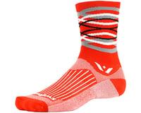 Image 1 for Swiftwick Vision Five Infinity Sock (Orange) (S)