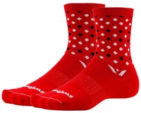 Swiftwick Vision Five Socks (Red/Black)