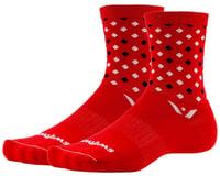 Swiftwick Vision Five Socks (Red/Black) (S)