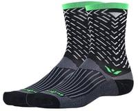 Image 1 for Swiftwick Vision Seven Tread Sock (Black) (M)