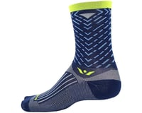 Image 2 for Swiftwick Vision Seven Tread Sock (Navy Blue) (S)
