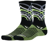 Image 1 for Swiftwick Vision Seven Shred Sock (Black) (M)
