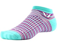 Swiftwick Aspire Stripe Zero Sock (Mint/Pink)