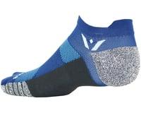 Image 2 for Swiftwick Flite XT Zero Sock (Royal BLue) (M)
