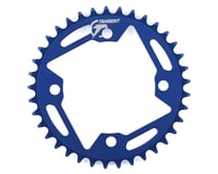 Image 1 for Tangent Halo 4-Bolt Chainring (Blue) (37T)