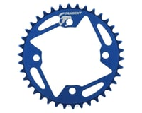 Image 1 for Tangent Halo 4-Bolt Chainring (Blue) (38T)