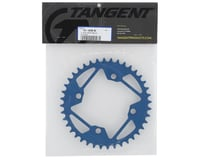 Image 2 for Tangent Halo 4-Bolt Chainring (Blue) (40T)