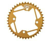 Image 1 for Tangent Halo 4-Bolt Chainring (Gold) (40T)