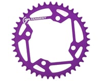 Image 1 for Tangent Halo 4-Bolt Chainring (Purple) (41T)