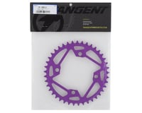 Image 2 for Tangent Halo 4-Bolt Chainring (Purple) (41T)