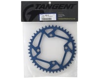 Image 2 for Tangent Halo 4-Bolt Chainring (Blue) (43T)
