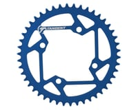 Tangent Halo 4-Bolt Chainring (Blue) (46T) | alsopurchased