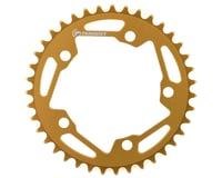 Image 1 for Tangent Halo 5-Bolt Chainring (Gold) (39T)
