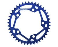 Image 1 for Tangent Halo 5-Bolt Chainring (Blue) (41T)