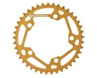 Image 1 for Tangent Halo 5-Bolt Chainring (Gold) (41T)