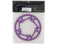Image 2 for Tangent Halo 5-Bolt Chainring (Purple) (44T)