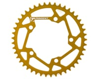 Image 1 for Tangent Halo 5-Bolt Chainring (Gold) (45T)