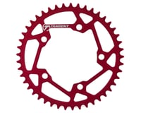 Image 1 for Tangent Halo 5-Bolt Chainring (Red) (45T)